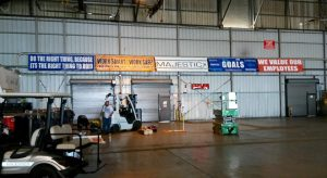 Types of Warehouse signs
